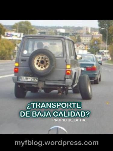 Los transportes proporcionados por la TIA
